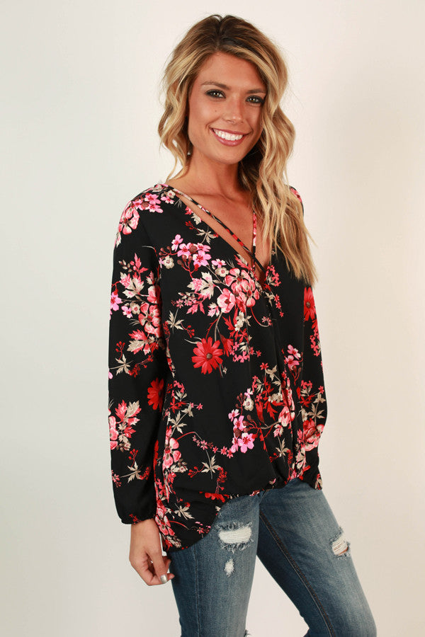 Fall Floral Fever Top