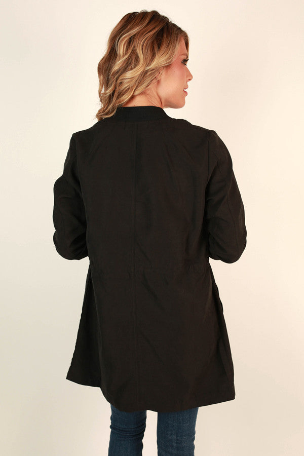 Favorite Season Lightweight Jacket in Black