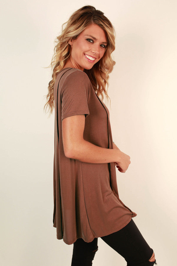 Up, Up and Away Tunic Tee