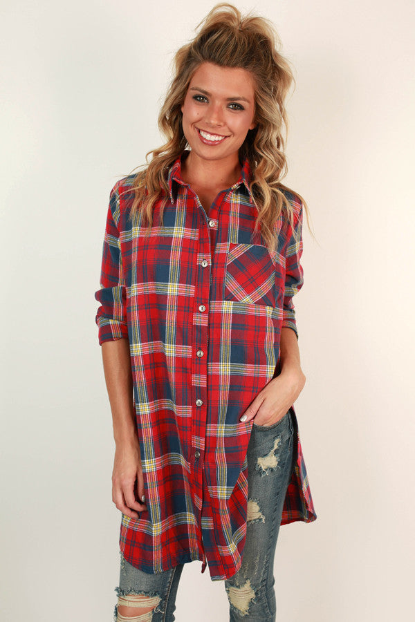 Our flannel shirt takes laid-back looks to the next level. Ultra soft and just the right weight, it makes a statement with a classic plaid pattern and casual comfort.