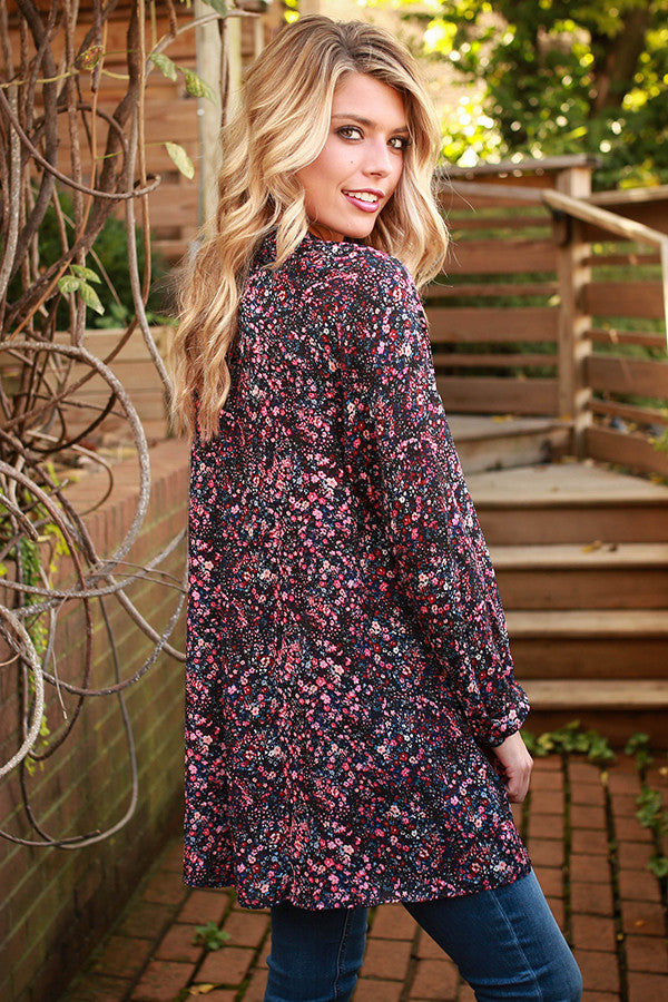 The Harlow Tunic in Roadtripping Floral