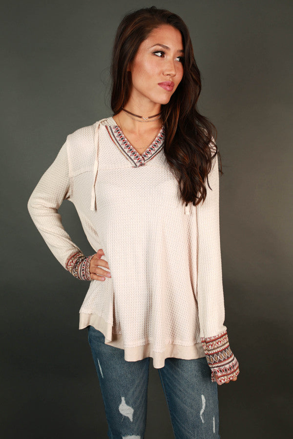 Trip To The Cabin Thermal Tunic