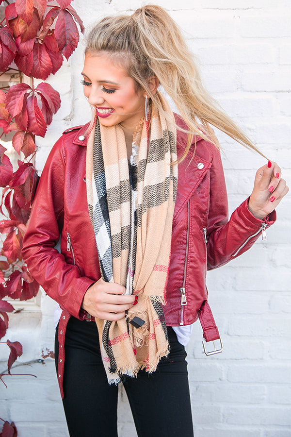 Warm Me Up Blanket Scarf