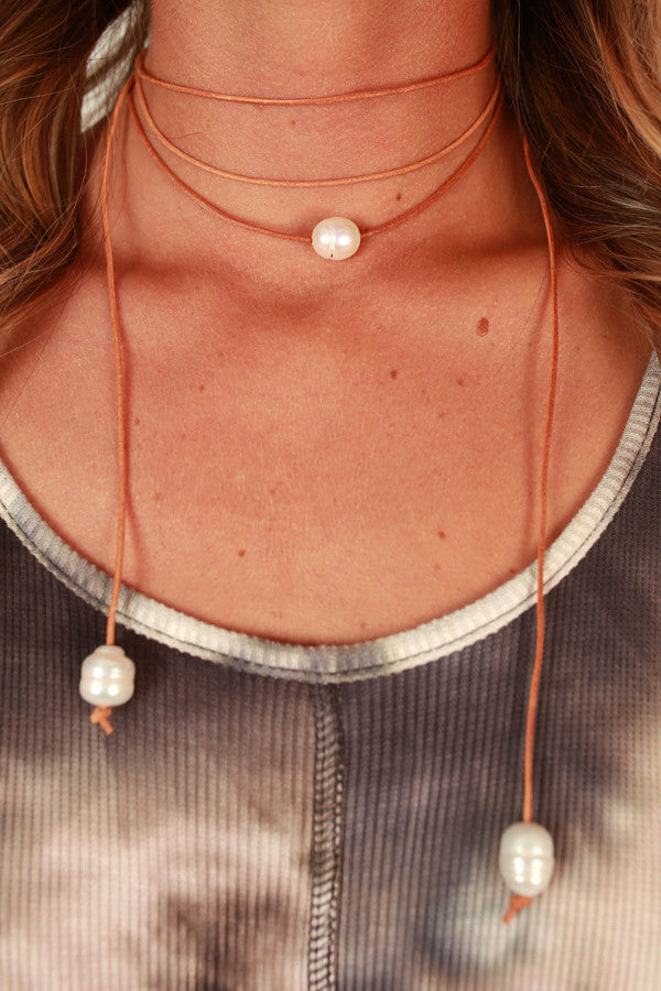 Pristine in Pearls Choker Necklace