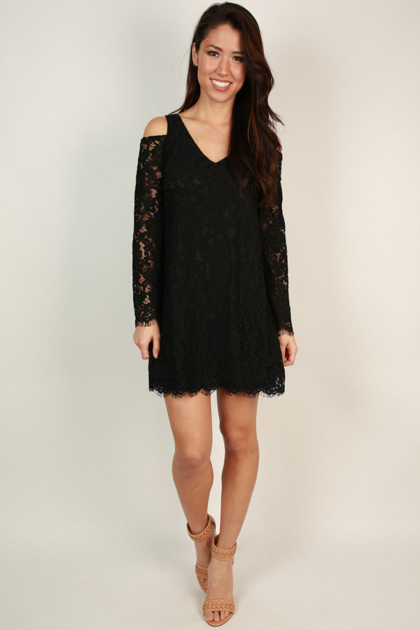 Time To Fall In Love Lace Dress