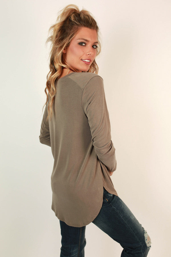 Original Beauty Top In Sage