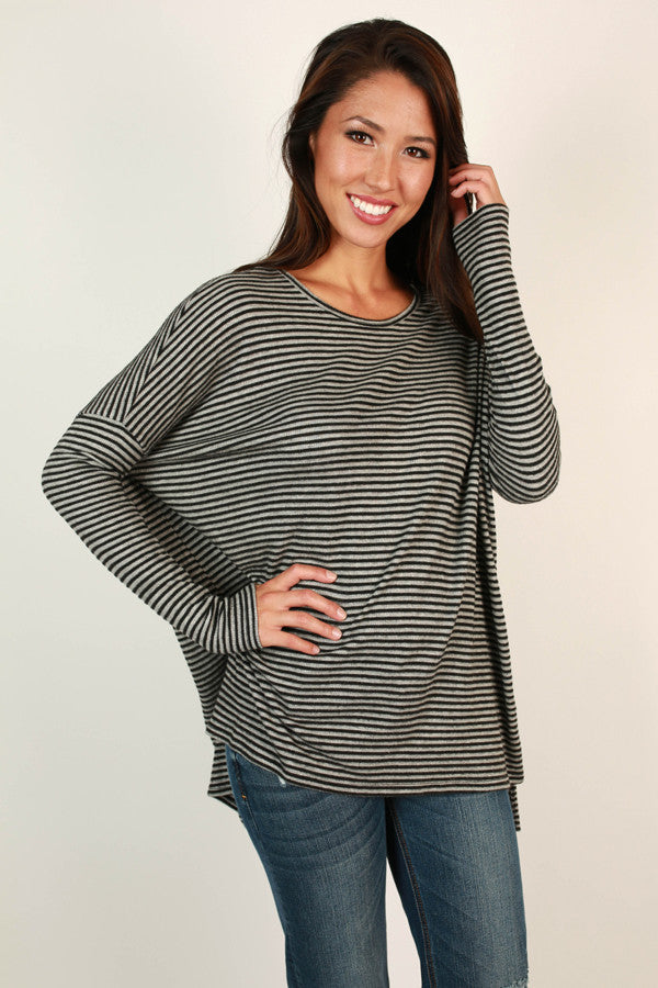 Striped Snuggles Sweater