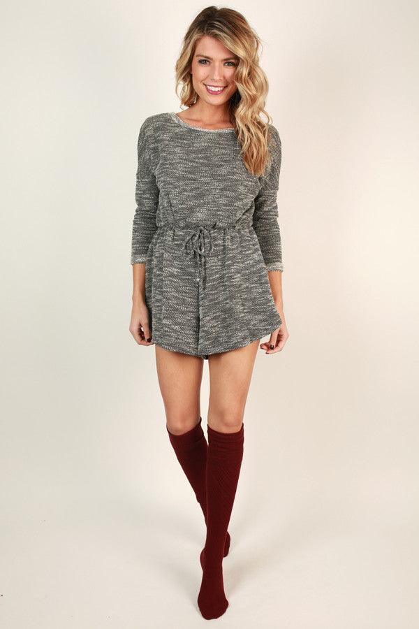Find Me In San Francisco Sweater Romper