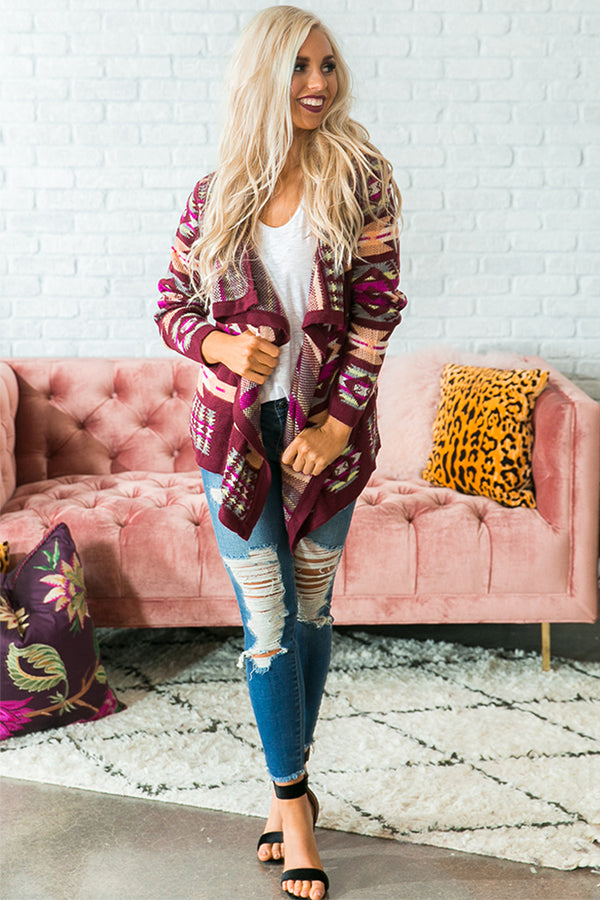 Wine By The Fire Cardigan