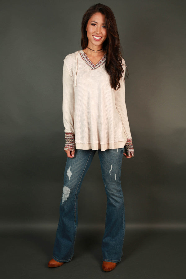 Savannah Distressed Flare