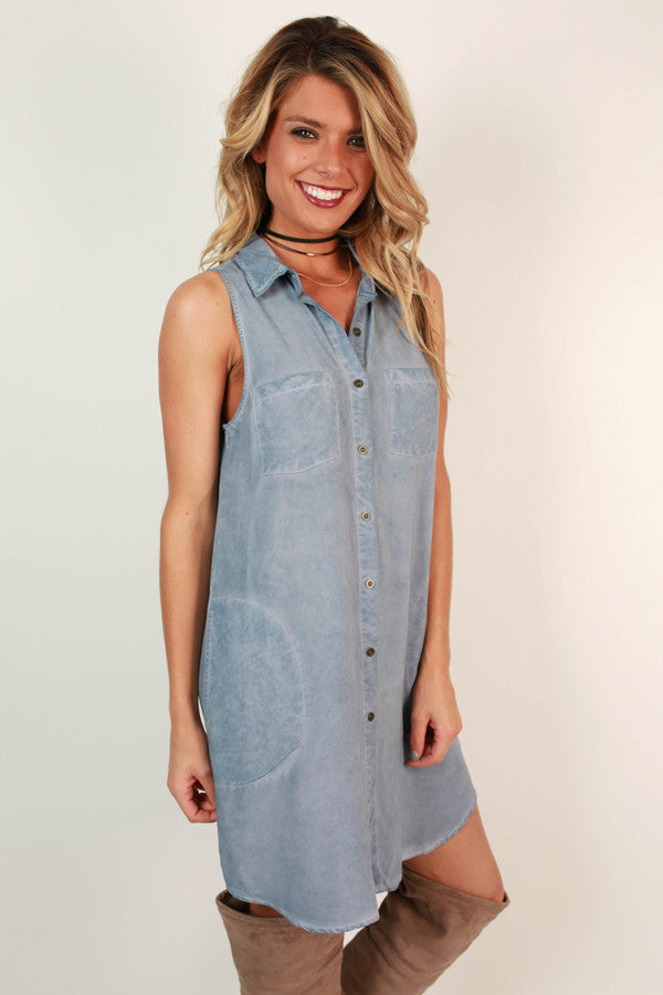Always Better Together Chambray Dress