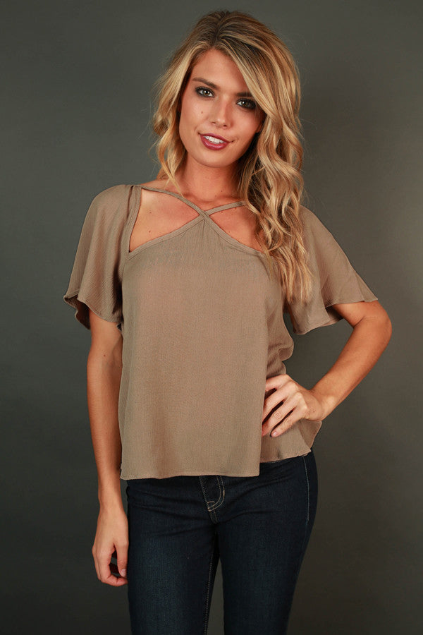 Cause And Effect Cut Out Top In Birch