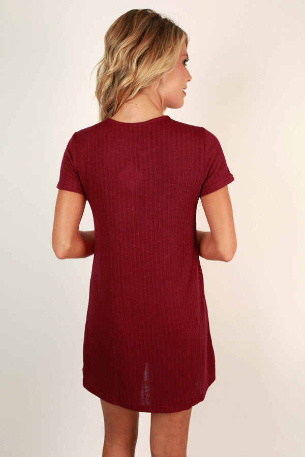 Apple Of My Eye Tunic Dress