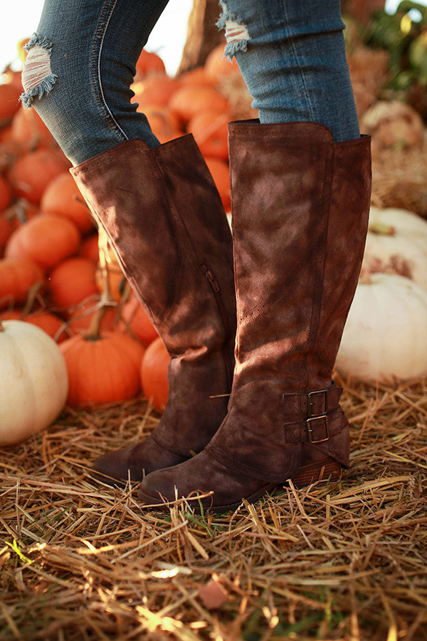 Blaire Knee High Boot in Hazelnut
