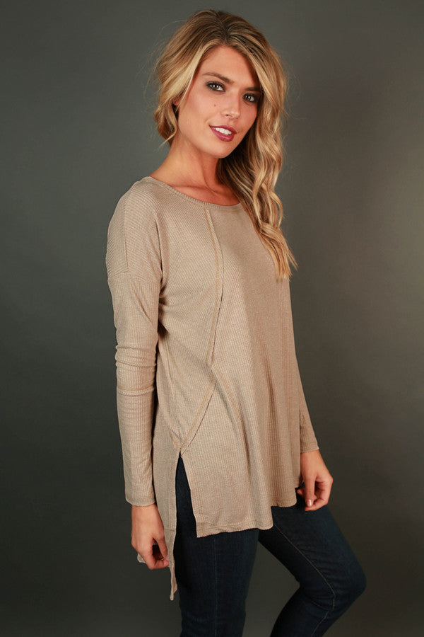 Stuck On You Tunic in Birch