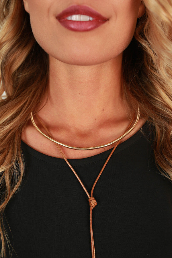 First Class Travels Choker