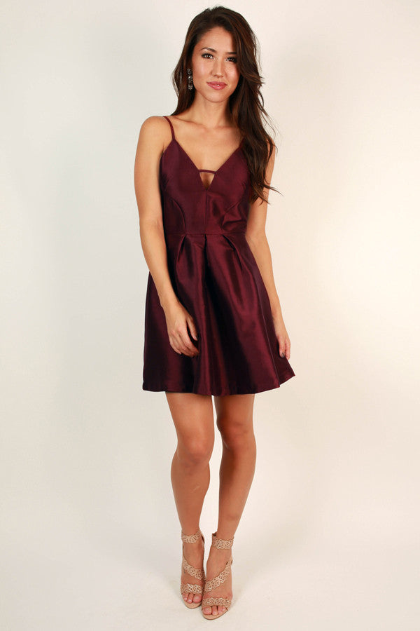 Soho Sweetheart Fit And Flare Dress
