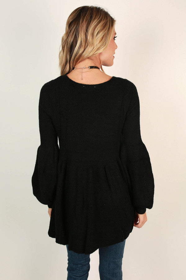 Steamboat Babydoll Tunic Sweater