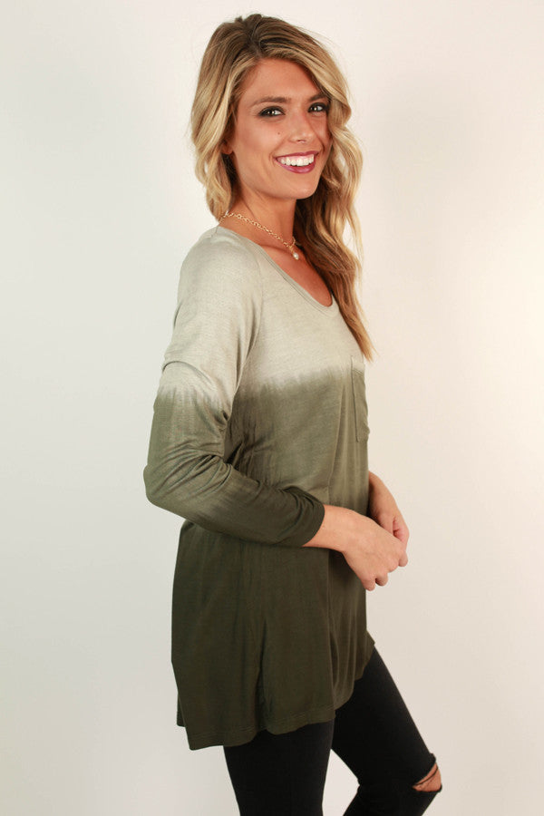 Denver Ombre Pocket Tunic