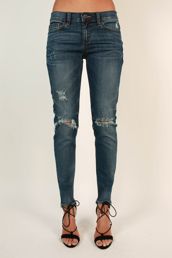 Fifth Avenue Distressed Skinny