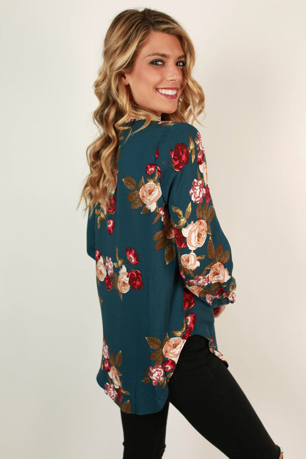 Rosey Darling Top