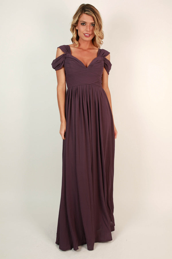33223090fb0a4 Napa Valley Outing Maxi Dress in Purple • Impressions Online Boutique