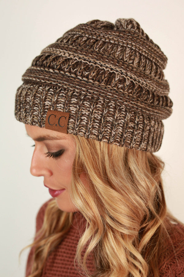 Beanie Beautiful in Chestnut Blend