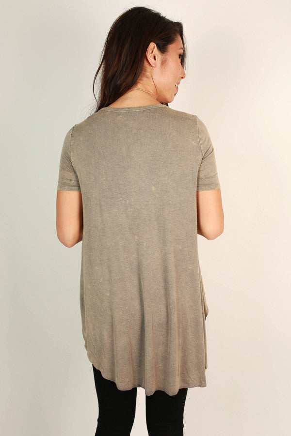 Memories Made Vintage Tee in Taupe