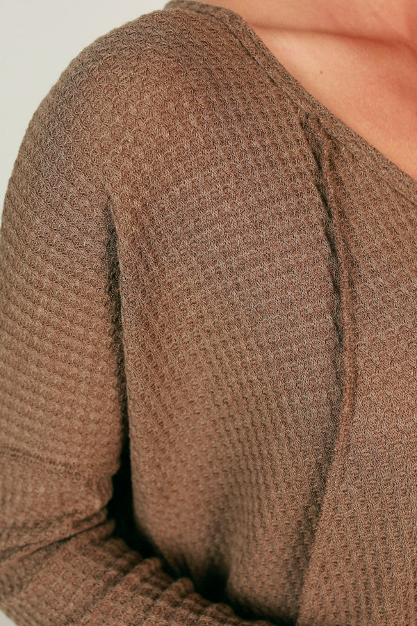 Vail Road Trip Thermal Tunic in Mocha