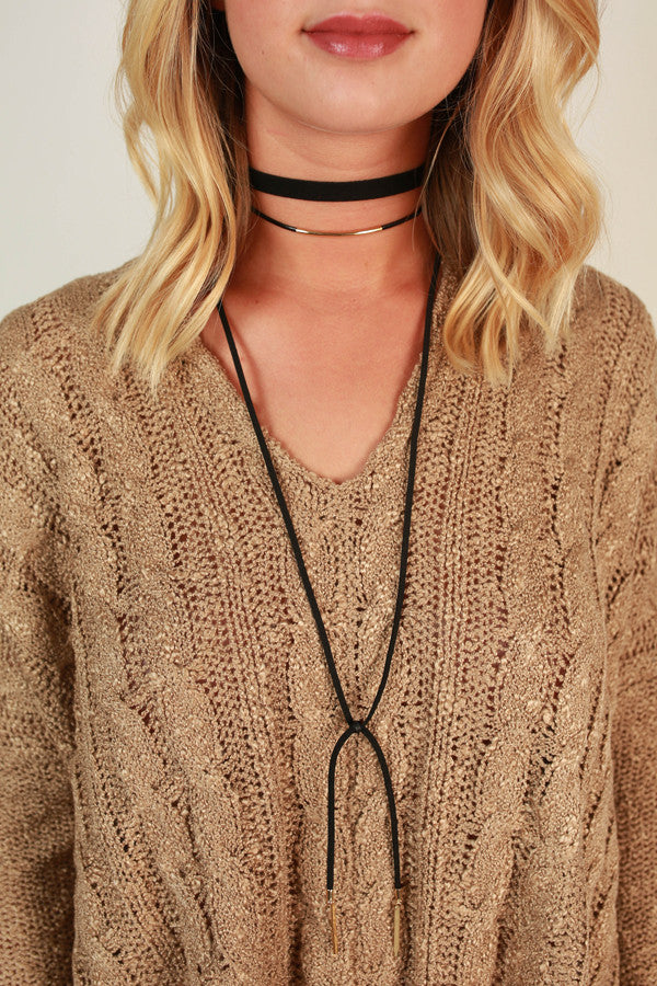 Tie The Knot Choker Necklace