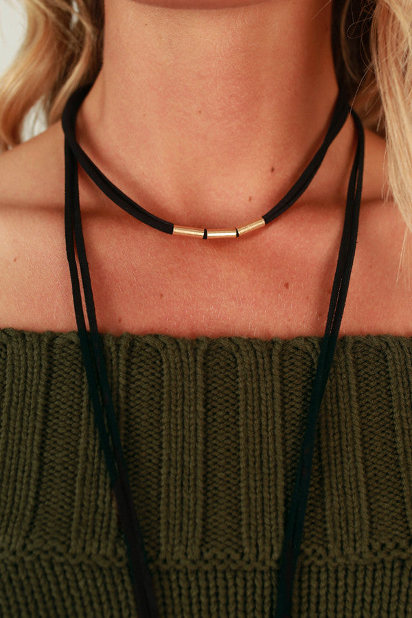 Behind The Scenes Choker Necklace