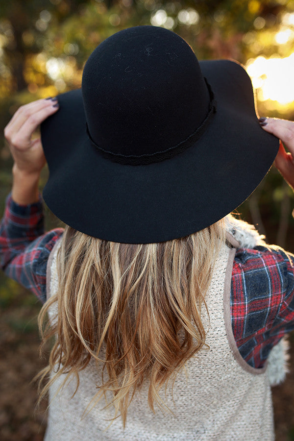 My Hat's Off To You In Black