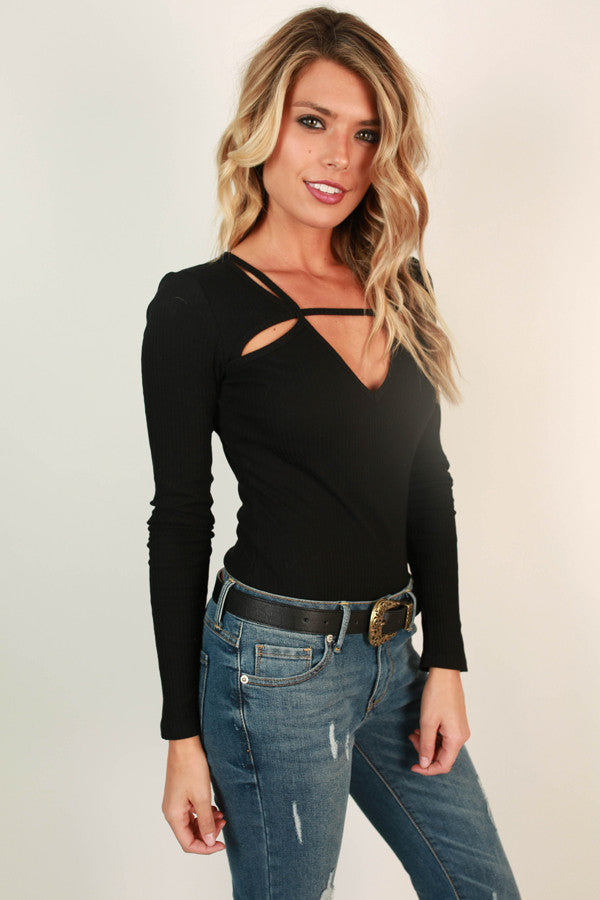 Bold Beauty Cut Out Bodysuit