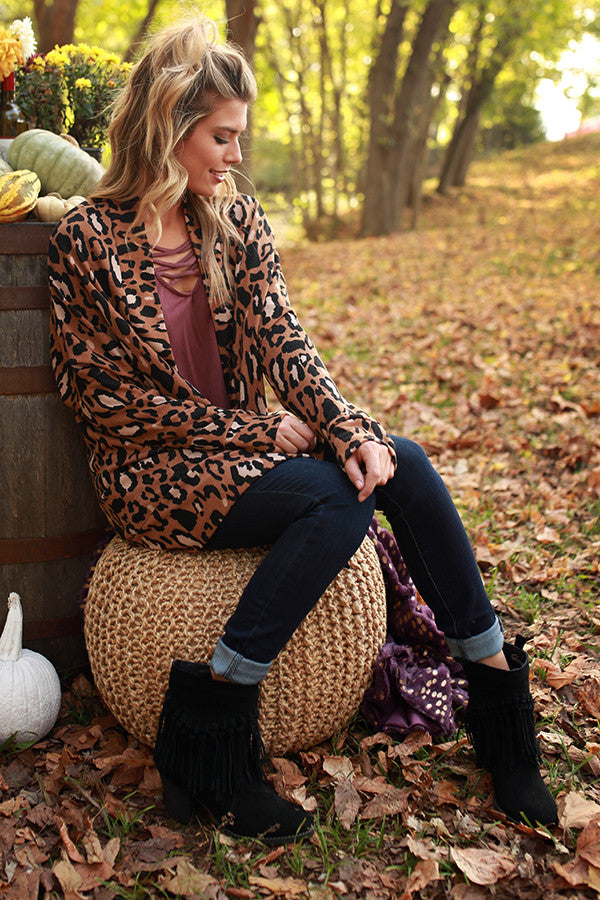Leopard Perfection Cardigan