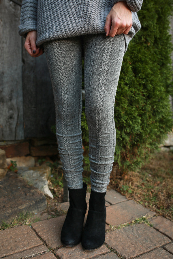 Favorite Season Heathered Seamless Legging