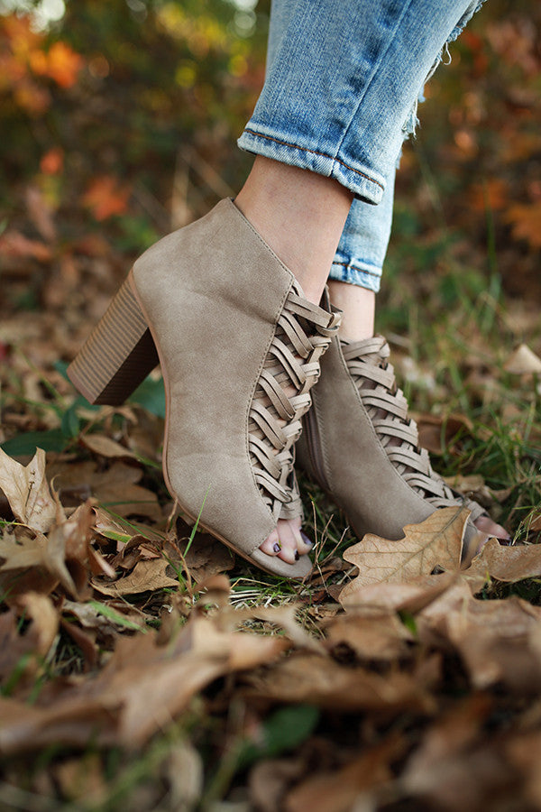 Serious Business Ankle Bootie