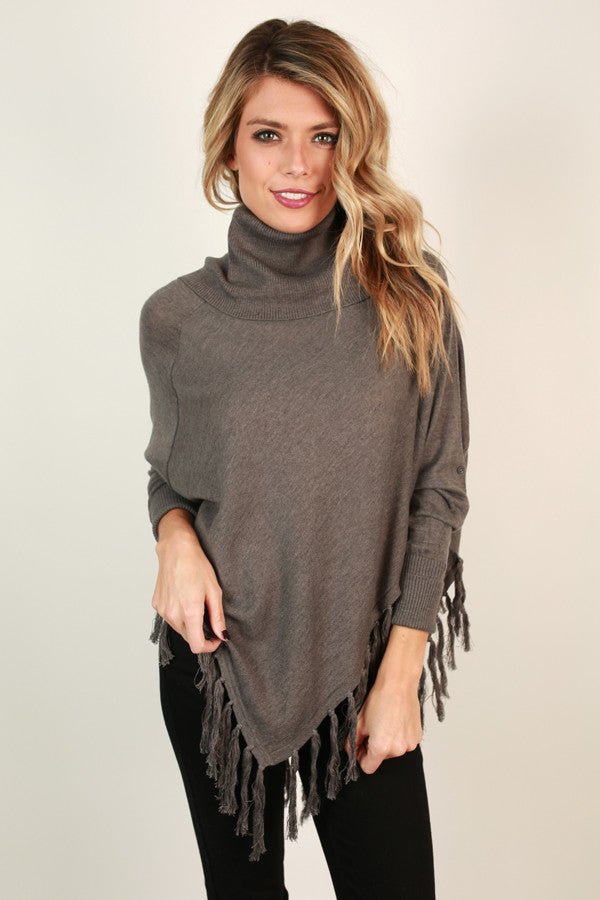 The Time is Now Fringe Sweater
