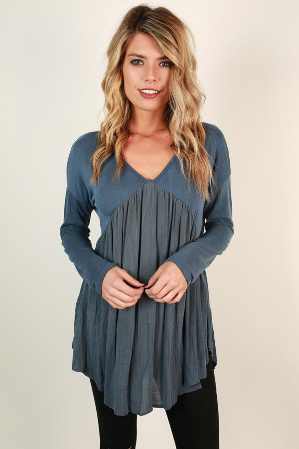 It's A Ruffle Life Babydoll Top