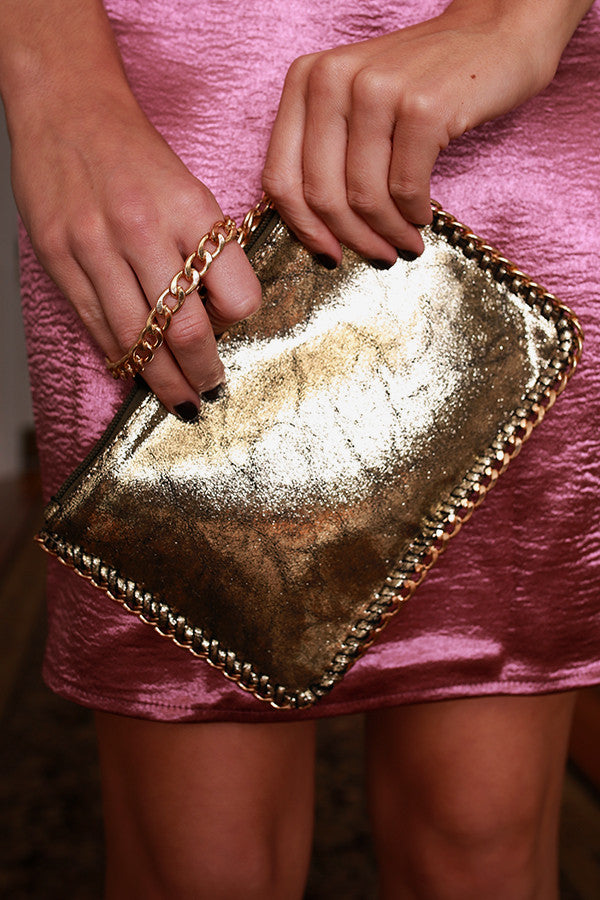 Heart Of Gold Clutch