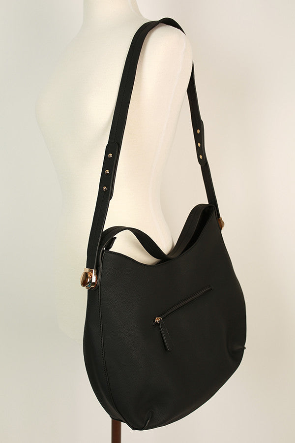 Going Uptown Tote in Black