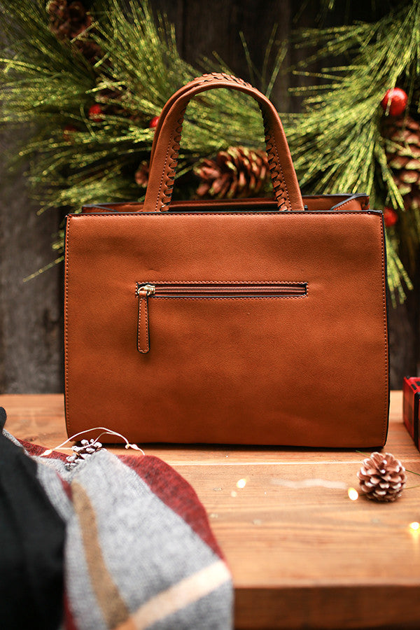 Chic Essentials Tote in Copper