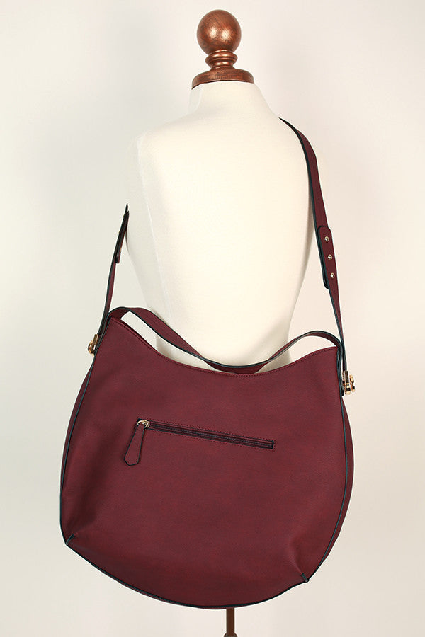 Going Uptown Tote in Wine