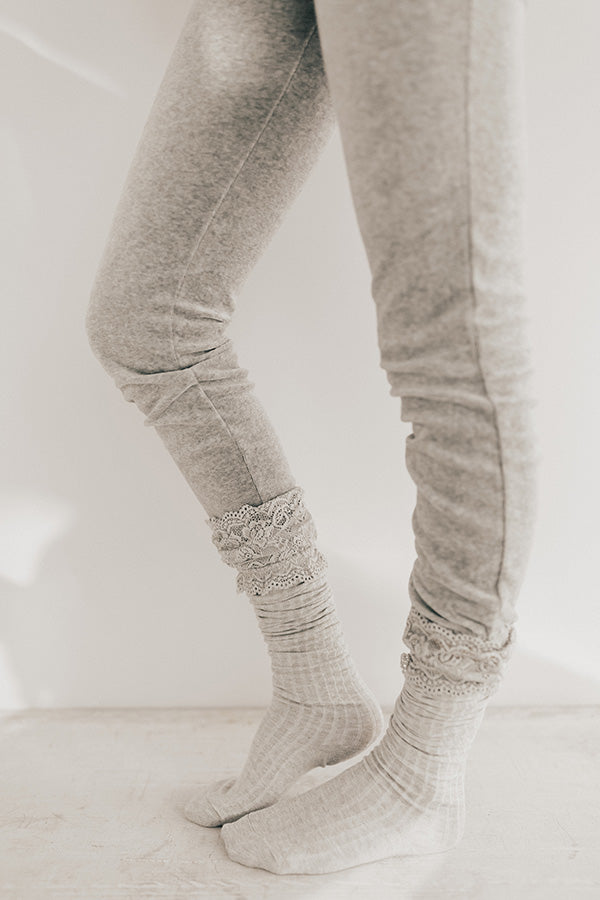 Girl's Night Thigh High Socks