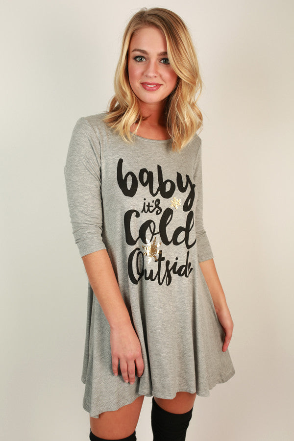 Baby It's Cold Outside Tunic