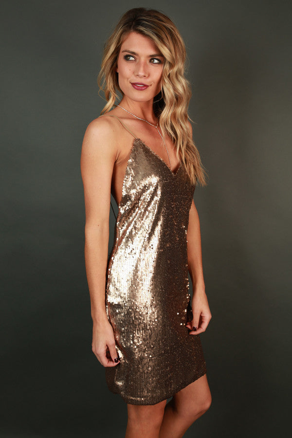 Get Your Glitz On Sequin Dress