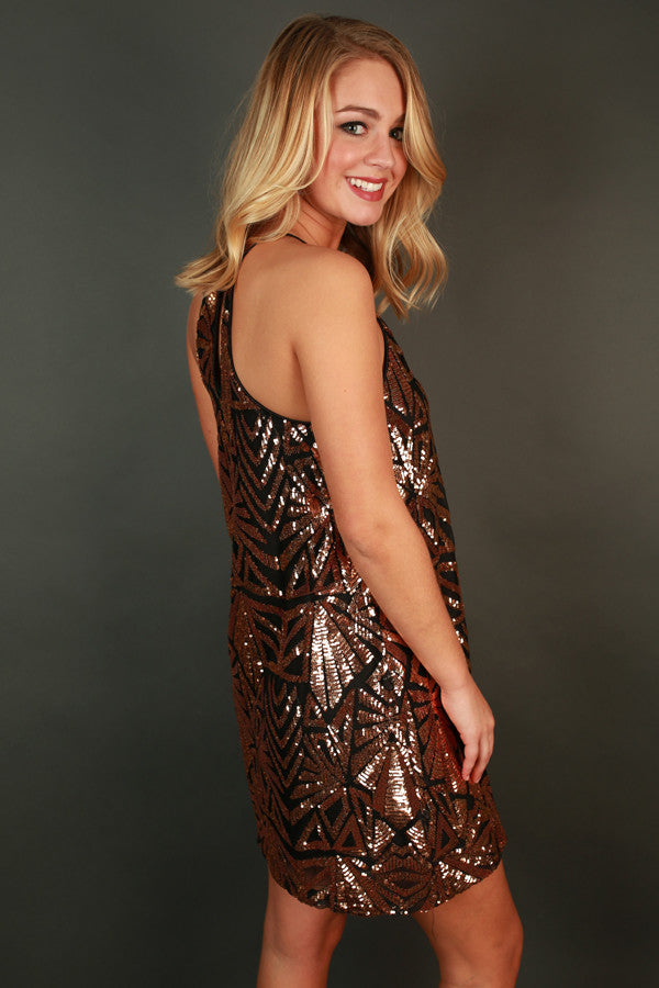 Sparkle and Sass Sequin Dress