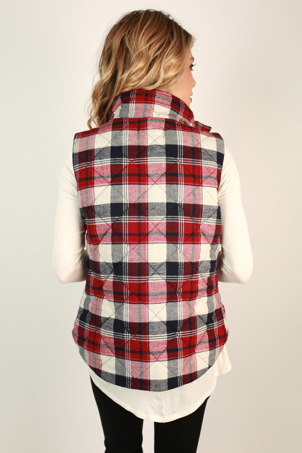 Best Of The Vest In Plaid