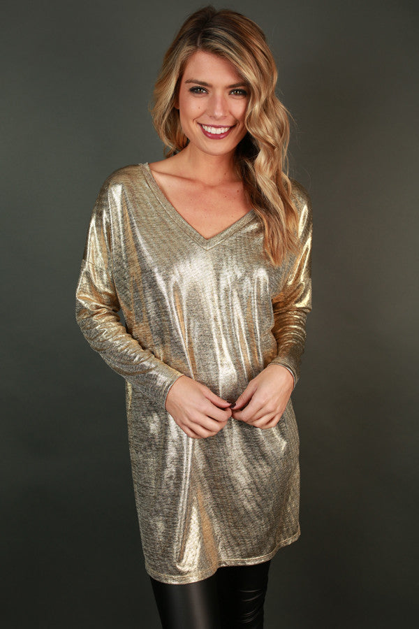 Get Your Shine On Tunic
