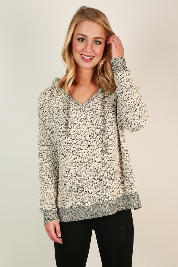 Warm Fuzzy Feelin' Sweater in Ivory