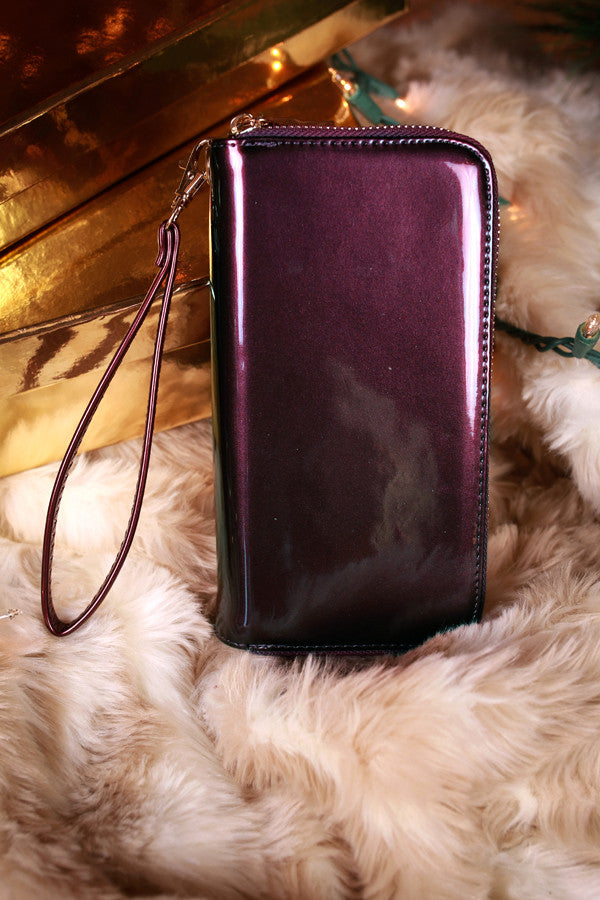 Everyday Must Have Wallet in Purple